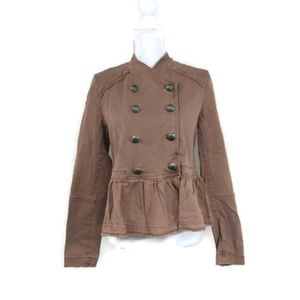 Free People Small Military-Style Jacket